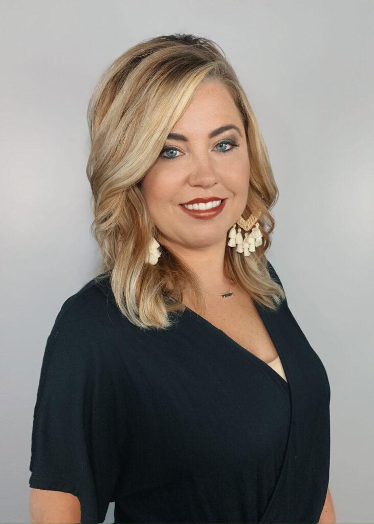 Amber Ballard at The Clip Joint Salon