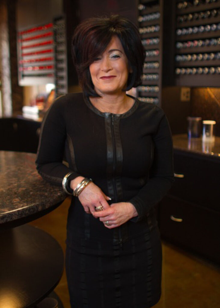 Melody Inman at The Clip Joint Salon
